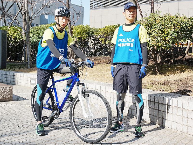 神奈川県警、「サイクルポリス」をお披露目