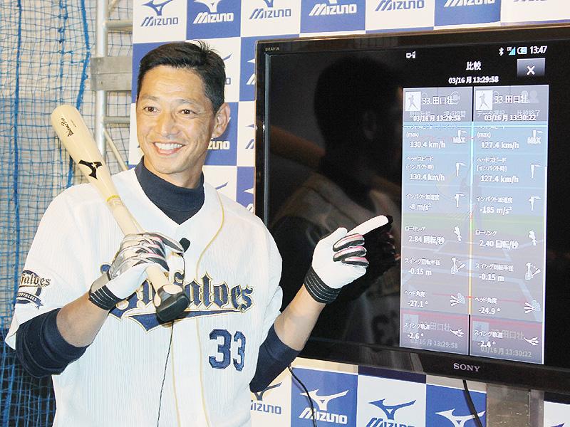 新システムで野球のバットスイングを解析