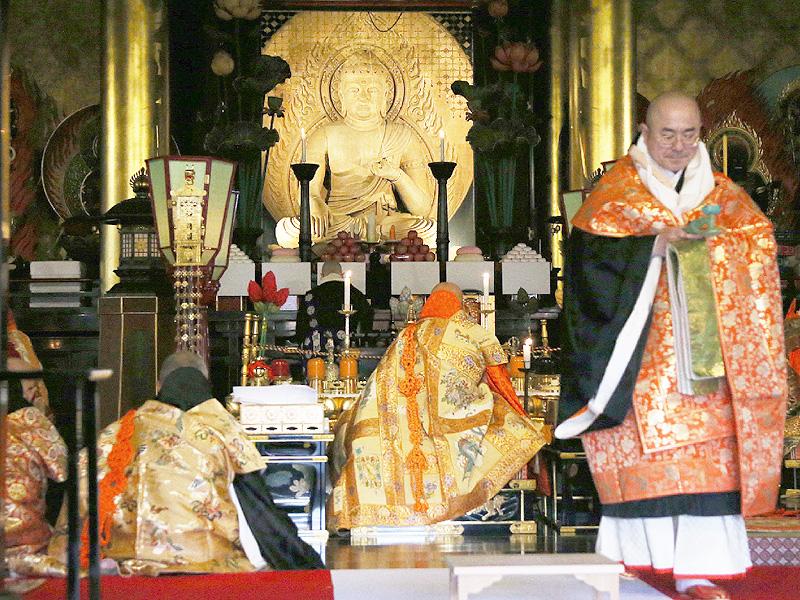 高野山で開創1200年を祝う「記念大法会」始まる