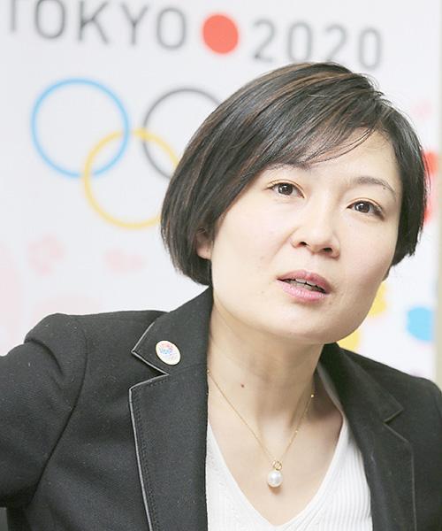 河村裕美さん「記憶に残る東京五輪を」