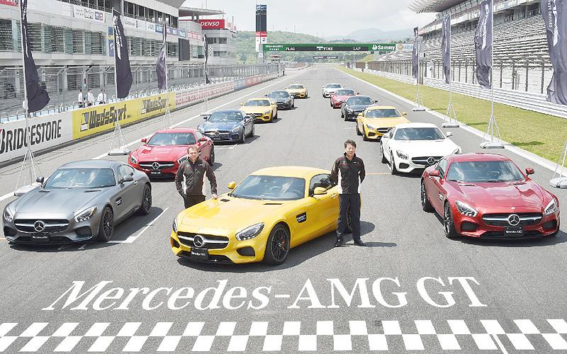 メルセデス・ベンツの新型スポーツカーずらり