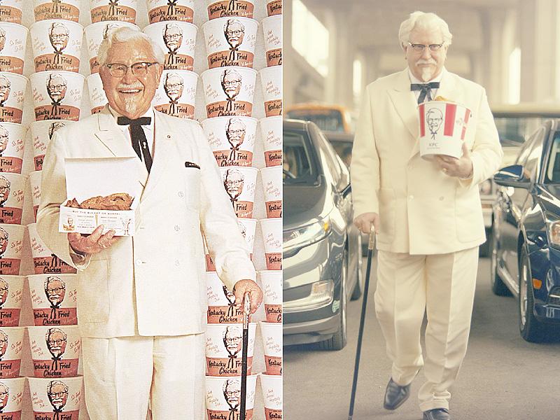 米KFC、「カーネルおじさん」CMで復活