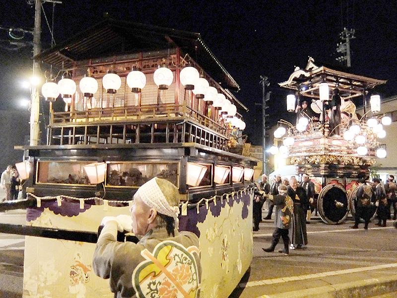 「越中の小京都」富山・南砺市に江戸文化の音色