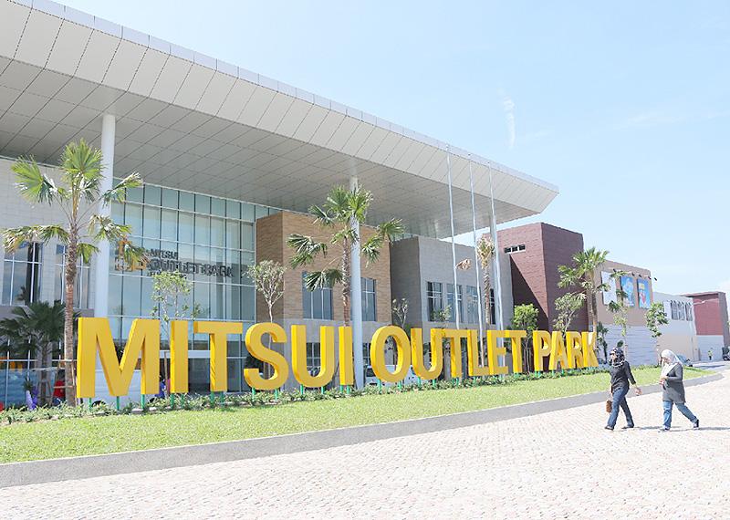 三井アウトレット、マレーシアでモールを開業