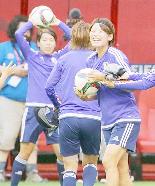 サッカー女子W杯、なでしこはあすスイス戦
