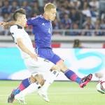 日本、国際親善試合でイラクに4発快勝