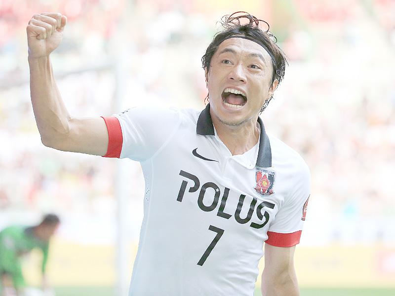 浦和が無敗で第1ステージV、16戦無敗の歓喜