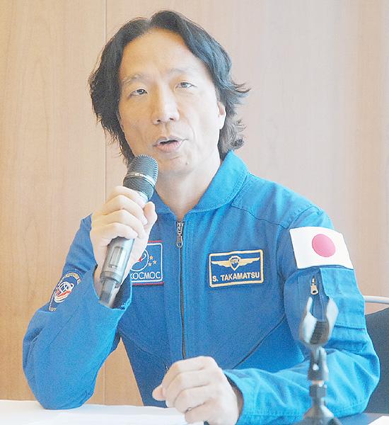 高松聡氏、9月に宇宙旅行せず