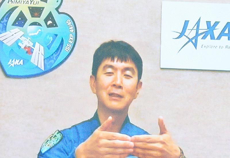 宇宙飛行士の油井亀美也さん「準備は120%」