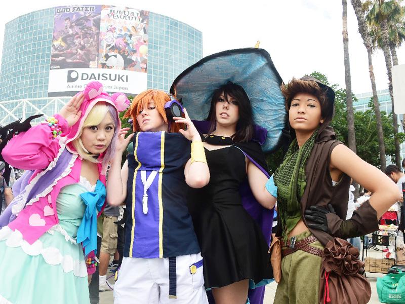 北米最大規模、「アニメエキスポ」が開幕