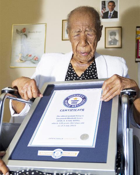 ギネス認定最高齢おばあちゃんが116歳に