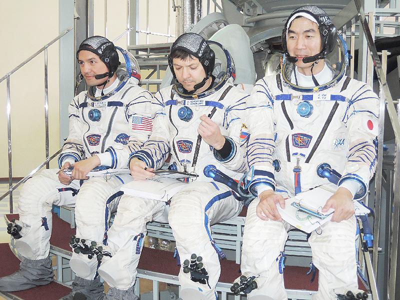 宇宙飛行士の油井さん、安全確認に「裏付け」