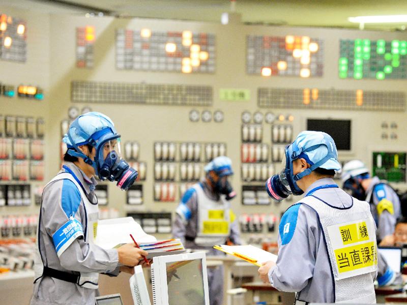 九州電力、重大事故を想定した総合訓練を行う