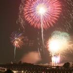 「いたばし花火大会」夜空を彩り実力示す