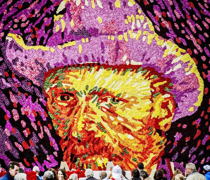 花の人ゴッホ、125回目の命日に肖像画を公開