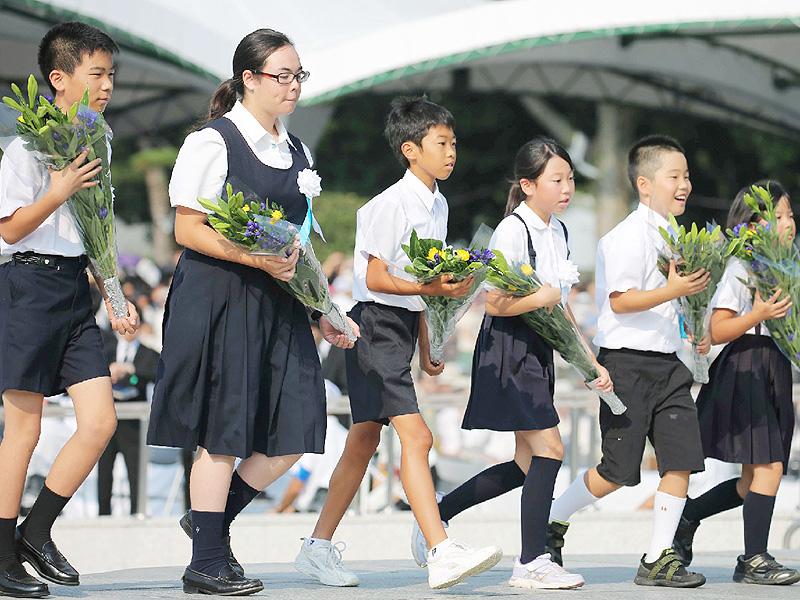 70回目広島原爆の日、過去最多100カ国参列