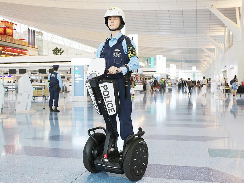 羽田空港の警備強化に「セグウェイ」を導入
