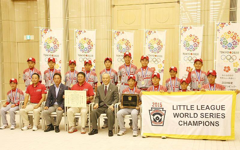 東京北砂が「東京スポーツ奨励賞」を受賞