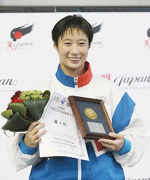 飛び込み日本選手権で板橋美波が2連覇