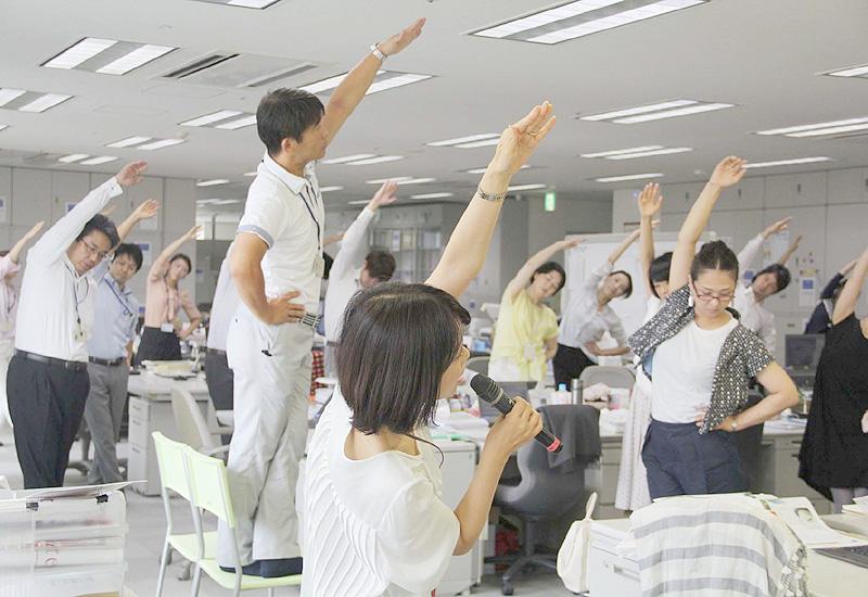 従業員の健康管理を支援する企業が増加