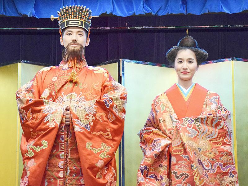 2015年度「琉球国王、王妃」選出の大会を開催