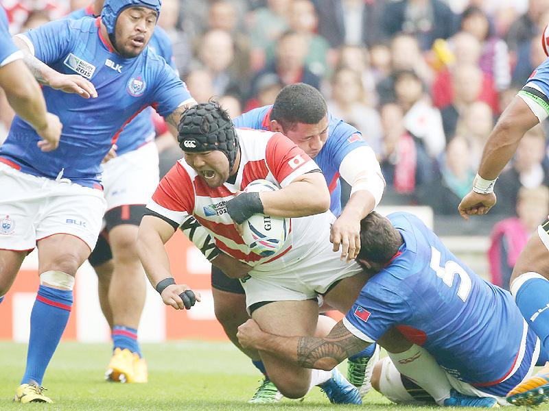 日本がサモアに26-5完勝、勝ち点を8