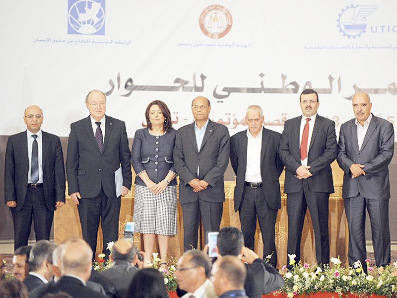 チュニジアの4団体にノーベル平和賞を授与