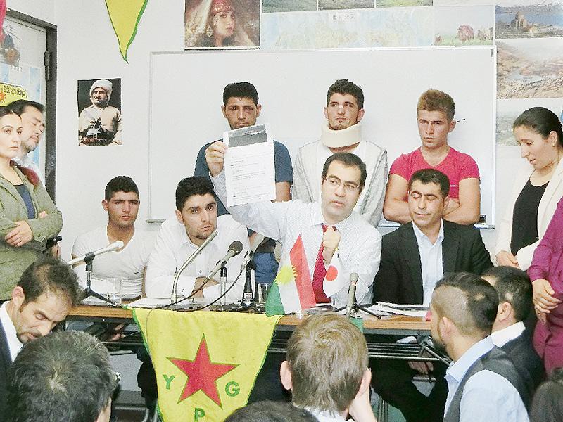 在日クルド系団体「平和的に解決したい」