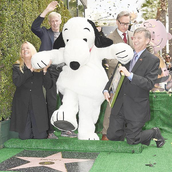 「スヌーピー」がハリウッドの殿堂入り