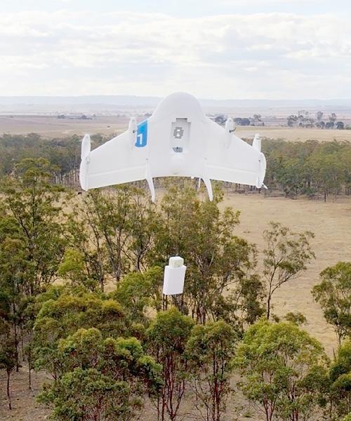 米グーグル、17年に無人機配達開始を目指す