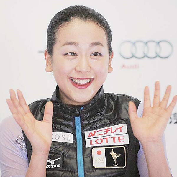 浅田真央、中国杯フィギュアで2季ぶり優勝