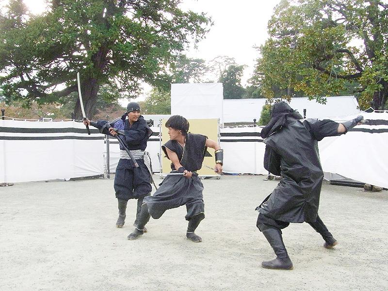 小田原市が風魔忍者をPRする「忍者の集い」