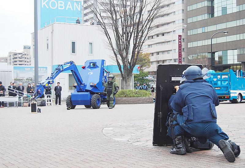 神奈川県警と警視庁、新幹線テロに備え訓練