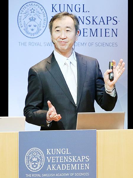 梶田隆章さん、ノーベル物理学賞の記念講演
