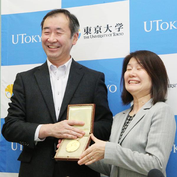 梶田さん「授賞式で改めて賞の重みを感じた」