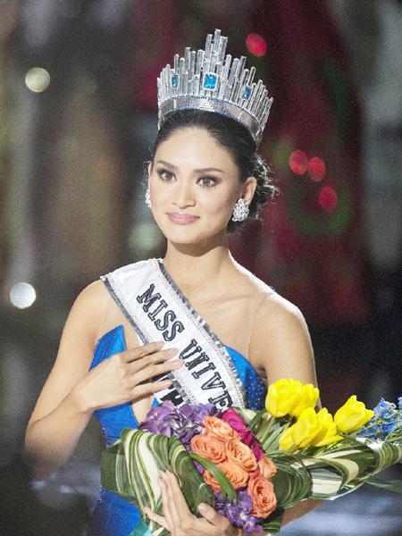 ミス・ユニバース、フィリピン代表が優勝