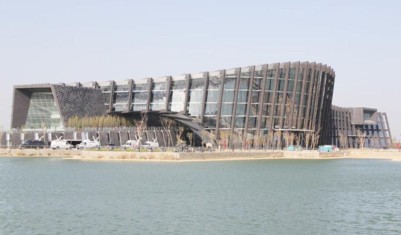 台湾・嘉義県に建設した「故宮南院」で開幕式