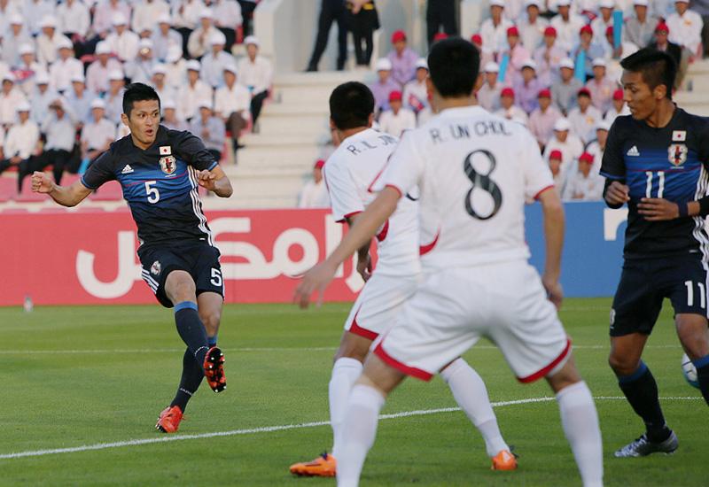 サッカー五輪最終予選で日本は白星スタート