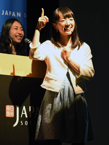 近藤麻理恵さん「片付けで世界平和を」
