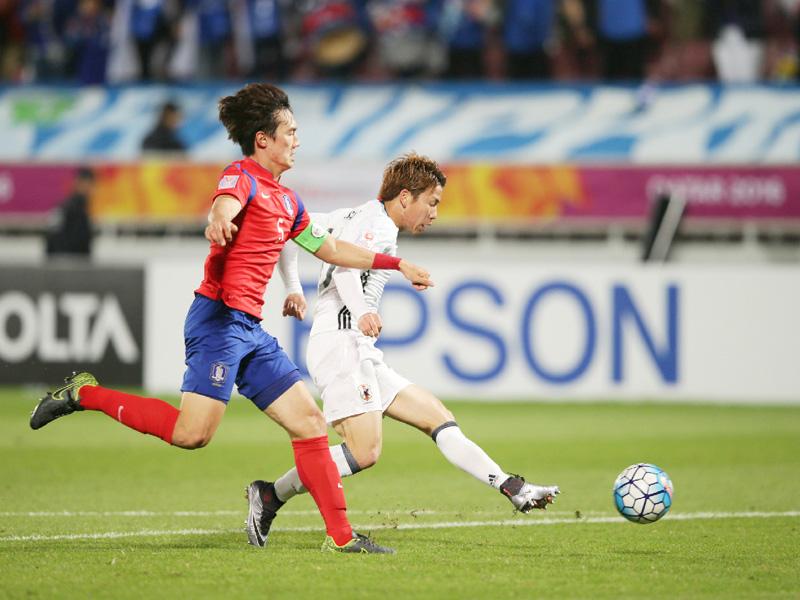 日本男子が韓国に逆転勝ち、アジア王者でリオへ